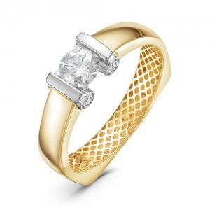 Кольцо (желтое золото)