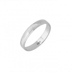 Обручальное кольцо (белое золото)