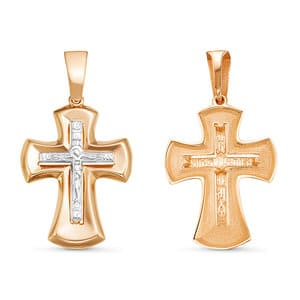 Крест (красное золото)